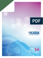 Annual Report Akasha