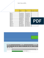 Gantt Chart Excel Template 2 Excel 2007-2013
