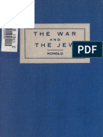 (1915) The War and the Jew