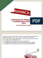 CINEMATICA UTILIZANDO COORDENADAS ESFERICAS
