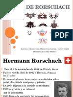 presentación Test de Rorschach
