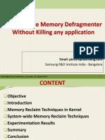 [ELC 2015] System Wide Memory Defragmenter