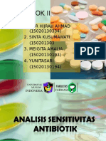 Kelompok 2 Sensitivitas Antibiotik