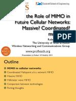 Future of MIMO Plenary Heath
