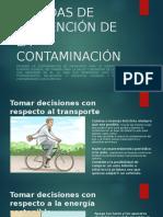 Medidas de Prevención de La Contaminación