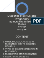 Diabetes Mellitus and Pregnancy
