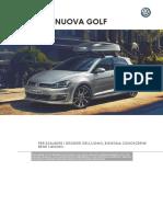Catalogo Accessori Volkswagen Golf