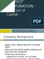 Marriot Corporation Case Study