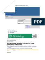 Erythroderma Review of a Potentially Life-threatening Dermatosis