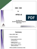 EMC / EMI in HFSS v8