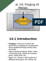 Chapter 14 Forging