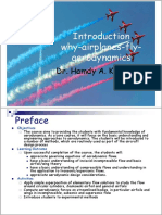 Lecture Aerodynamics Aerodynamics