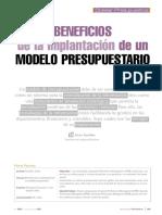 TEMA 3_Lectura 7 - Beneficios de La Implantación de Un Modelo