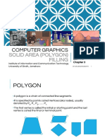 Computer Graphics_Chapter 3 Solid Area Polygon Filling