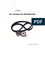 Analisis de Fallas en Correas de Distribucion