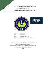Praksisdig 4 - Full Adder Dan Ful Substruction 4bit
