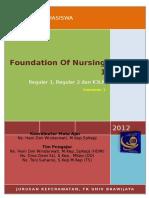 Silabus Foundation of Nursing 1