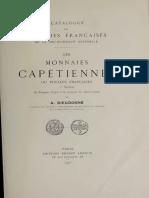 Les monnaies capétiennes ou royales françaises. Sect. 1