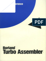 Turbo Assembler Version 4.0 Quick Reference Mar94