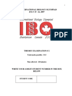IBO2007 Theory B