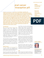 Gynecological Cancer and Contraceptive Pill