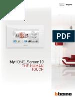 MyHome Screen10 BTicino