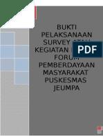 2. Bukti Pelaksanaan Survei (SKP) 2015
