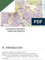 Comentario Plano de Valencia