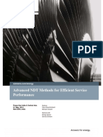 Paper Advanced Ndt Methods for Efficient Service Performance