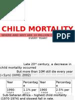 Child Mortality Handouts