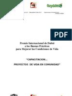 Capacitacion... Proyectos de Vida en Comunidad (Espanol)