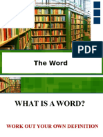 The Word (part 1)