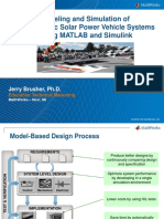 2015 Solar Car Conference MathWorks Workshop