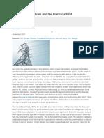 AC vs DC Transmission on Super Grids Grids