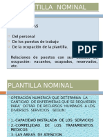 Plantilla Nominal