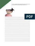 Expresión escrita  para primaria