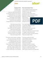 Paris Sera Toujours Paris (Tradução) - Zaz (Impressão)