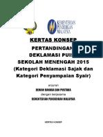 2015 - Kertas Konsep Pertandingan Deklamasi 2015