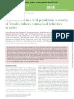 Behavioral Ecology 2016 Bonnet Beheco Arw023