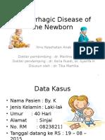 Hemorrhagic Disease of the Newborn