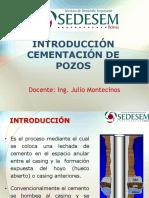 1. Unidad i - Introducción Cementación de Pozos