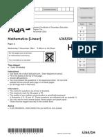 AQA-43651H-QP-NOV14