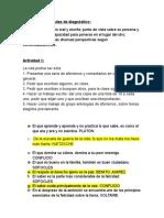 Diseño de Actividades de Diagnóstico (Autoguardado)