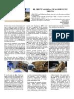 Texto periodístico - Crónica