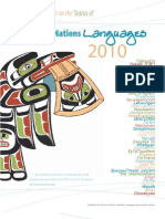 2010 Report on the Status of Bc First Nations Languages