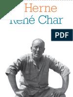 René Char - Cahier Herne 15