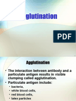 Agglutination and Preceptation [Recovered]