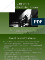 Chapter 14 20th Century Drama