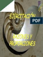 Ejercicios Razones y Proporciones (1)