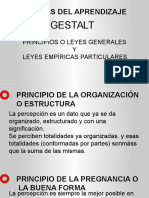 2º Gestalt - Leyes
